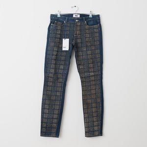 NWT Paige Jeans with Printed Front Detail